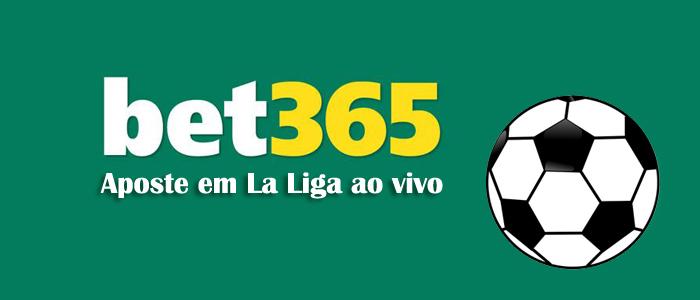 aposte em La Liga ao vivo através do bet365