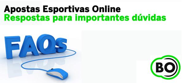 FAQ Apostas esportivas Online
