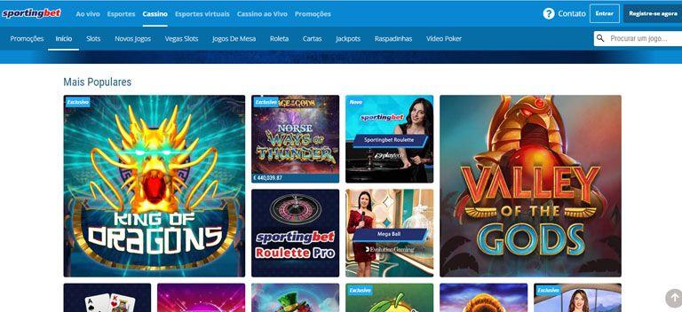 cassino online sportingbet