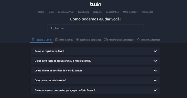 twin contacto